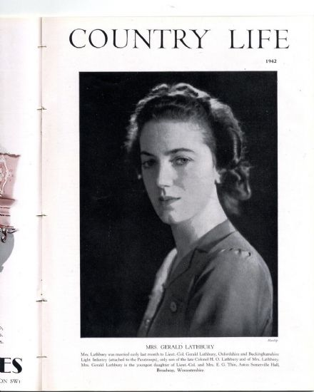 1942 COUNTRY LIFE Magazine SISSINGHURST Sackville West JEAN LATHBURY (2832)